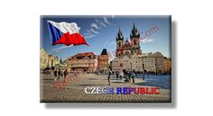 Fridge Magnet about Czech Republic..