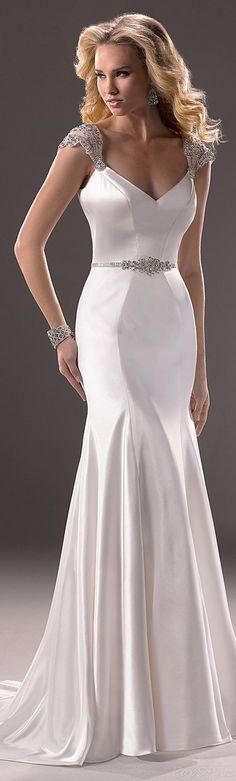 White Detailed Gown - Gorgeous !