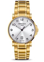 Show details for Certina Gold tone White Dial Watch