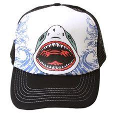 1ad4d8508e2 Shark Attack Hollywood Trucker Mesh Hat Hollywood http   www.amazon.com