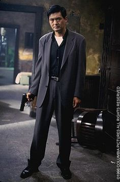 Chow Yun-Fat as John Lee from The Replacement Killers.  I think he looks wonderful in this shot.