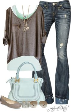 """Chocolate Mint"" by partywithgatsby on Polyvore"