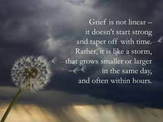 Grief is not Linear