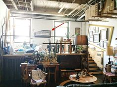 This Greenpoint Magpies' Nest Rocks a Kitchen Cabin, a Bathroom Woodshed and Artful Chaos   6sqft