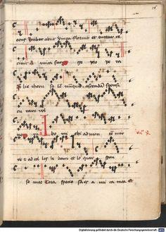 Cantionale, Geistliche Lieder mit Melodien. Münchner Marienklage Tegernsee, 3. Drittel 15. Jh. Cgm 716  Folio 26