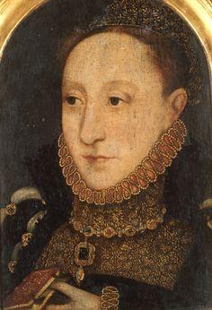 Portrait Of Queen Elizabeth I, Circa 1565 Art Print by English School at King & McGaw