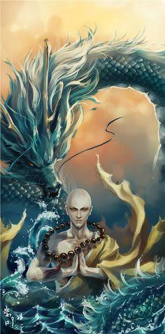 Asian fantasy art. Renshu character inspiration #nanowrimo2015