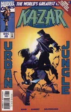 Ka-Zar Vol. 2 # 8 by Andy Kubert & Jesse Delperdang