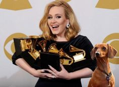 Adele and Louie