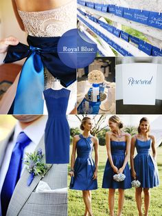 Top 10 Fall Wedding Colors for Bridesmaid Dresses 2014 - want a blend of cypress and cognac Fall Wedding Colors, Blue Wedding, Trendy Wedding, Dream Wedding, Bright Bridesmaid Dresses, Wedding Bridesmaids, Royal Blue Bridesmaids, 2015 Wedding Dresses, Wedding Themes