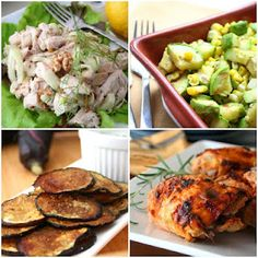 4 yummy picnic-themed recipes from All Day I Dream About Food. #picnic12