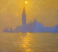 Sun Rising over San Giorgio Maggiore by Nicholas Verrall