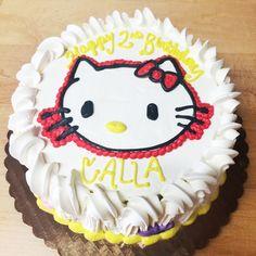 Hello kitty birthday cake by Mueller's Bakery!