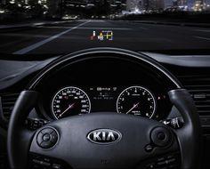 Kia k9 heads up display #technology #kia #k9 #quoris #luxury #cars #sedan #teamkia #newhampshire