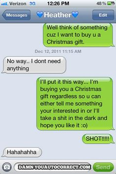 Haha. #funny #text #message