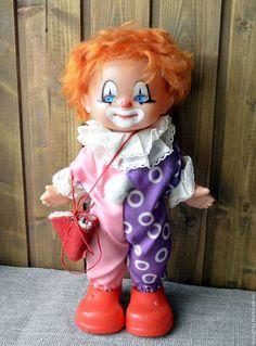 Винтажные куклы и игрушки. Ярмарка Мастеров - ручная работа. Купить Кукла Клоун. Ленигрушка. Автор М. Мотовилова. Handmade. Комбинированный