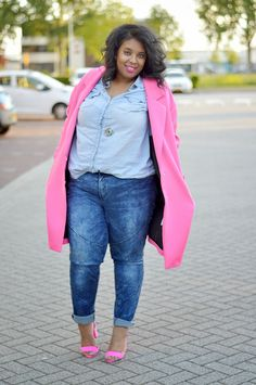 Supersize my Fashion: Pinks and Blues