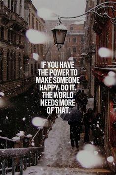 make someone happy today