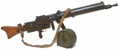 MG 08/15 This is the LMG version of the Maxim heavy machine gun. A man (supposedly) was expected to be capable of carrying this.