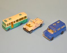 Diecast Metal Toy Cars  Husky Vista Coach by StarfishCollectibles, $12.00 Corgi Husky, Metal Toys, Ford Transit, Jeep Wrangler, First Photo, Vintage Toys, Diecast, Cars, Jeep Wranglers