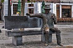 Le commissaire Maigret - personnage de Georges Simenon, place Maigret à Liège