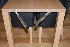 Eleganter Tisch - Ansteckplatte