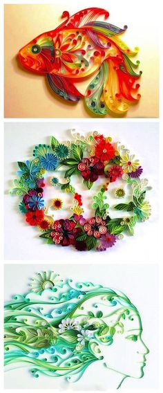 Paper Quilling...really want to do this now