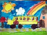 first grade school buses. I have had more than a few of these on my bus over the years.