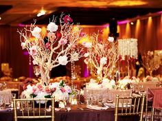 Integrating branch centerpieces into your reception design is a cost-effective alternative to huge, floral arrangements. Produce a dramatic look for your reception and decorate your branch centerpieces with elegant beads, simple crystals, and miniature candles. You can paint them to add a splash of color that matches your wedding theme, or leave them brown for […]