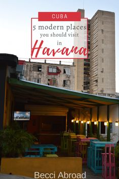 Explore some of my favorite modern spots in Havana that will almost make you doubt you are in Cuba Havana Cuba, Caribbean, Make It Yourself, Explore, Places, Modern, How To Make, Travel, Culture