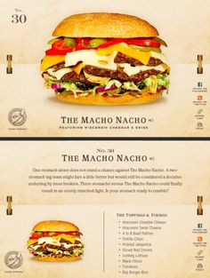40 Of The Most Delicious-Looking Cheese Burger Combinations Ever - UltraLinx Burger Menu, Gourmet Burgers, Burger Recipes, Junk Food, Brunch, Good Food, Yummy Food, Delicious Burgers, Wrap Sandwiches