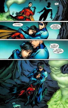 Nightwing (Dick Grayson)and Red Robin (Tim Drake)