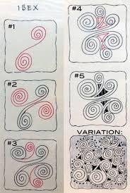 「zentangle paso a paso」的圖片搜尋結果