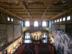 Salone dei cinquecento. Palazzo Vecchio, Firenze.