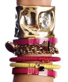 stacked jewelry