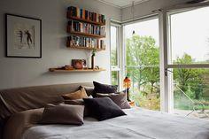 Master bedroom övre plan (1 av 5 sovrum)