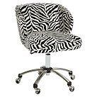 Zebra Wingback  daughters room