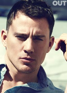From Stripper to Superstar | channing Tatum  For you @Matty Chuah red stitch Bonaventrura