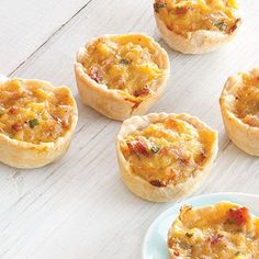 Mini Crawfish Pies from Louisiana Cookin' magazine