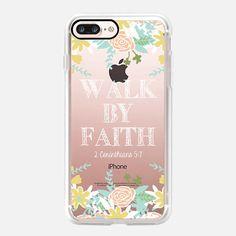 Walk By Faith - Classic Snap Case