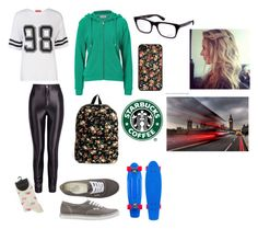 No. 136 by emmurray-md on Polyvore featuring Closed, Influence, Vans and Ray-Ban