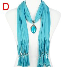 amazing blue scarf $9.89