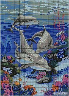 This Pin was discovered by Ram Cross Stitch Horse, Cross Stitch Sea, Cross Stitch Animals, Cross Stitch Flowers, Cross Stitch Charts, Cross Stitch Designs, Cross Stitch Patterns, Cross Stitching, Cross Stitch Embroidery