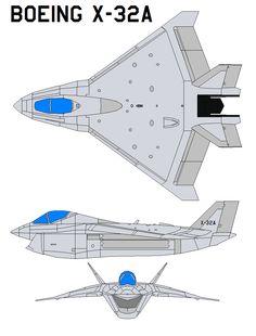 Boeing X-32A by bagera3005.deviantart.com on @DeviantArt