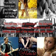 Music Of The Heart by Katie Ashley  Abby Renard ♥ Jake Slater #Runaway Train