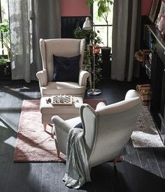 Ikea Showroom, Accent Chairs, Furniture, Home Decor, Upholstered Chairs, Decoration Home, Room Decor, Home Furnishings, Home Interior Design