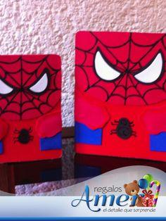 Envolturas Amer. Caja para regalo Spiderman.