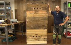 DIY Smoker- How To Build A Smokehouse From Pallets for Less than $100 - DIY Ready - DIY Ready