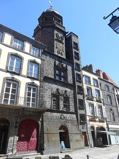 Clermont Ferrand, Poitiers, Rhone, France, Times Square, Travel, Alps, 18th Century, Auvergne