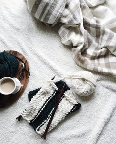 I love quiet days filled with rain coffee and beautiful knit stitches the perfect kind of snuggly afternoon by ozetta
